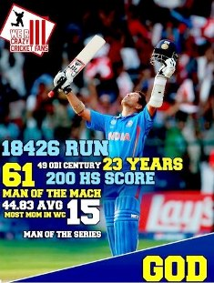 Tendulkar's retirement from ODIs