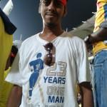 Sathya at M A. Chidambaram Stadium.