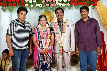 My friend Arun Prakash marriage