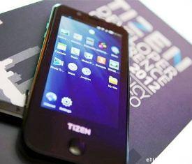 Tizen-based Samsung smartphone