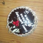 My mother birthday celebration 2015
