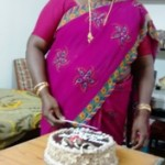 My mother birthday celebration